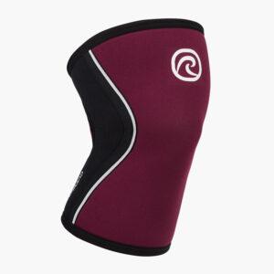 RX Knee Sleeve 5mm - Vinröd/Svart